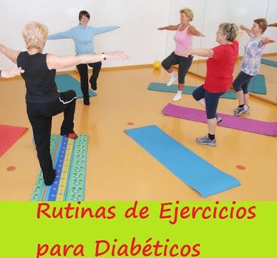 ejercicio para pacientes con diabetes