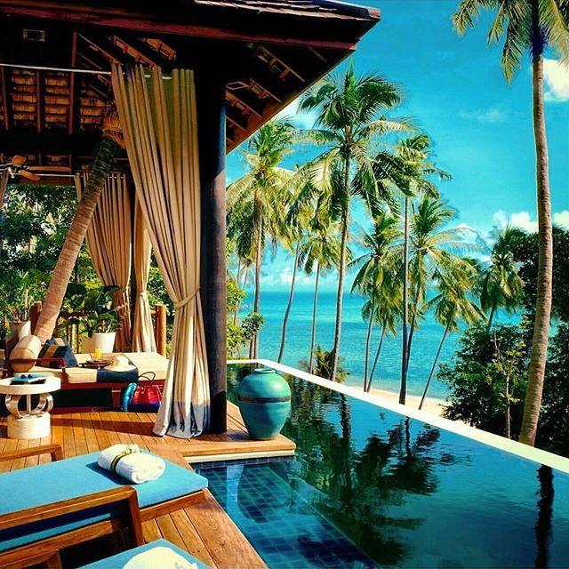 7 Luxurious Honeymoon Destinations Hotels: Four Seasons Resort In Koh Samui - Thailand