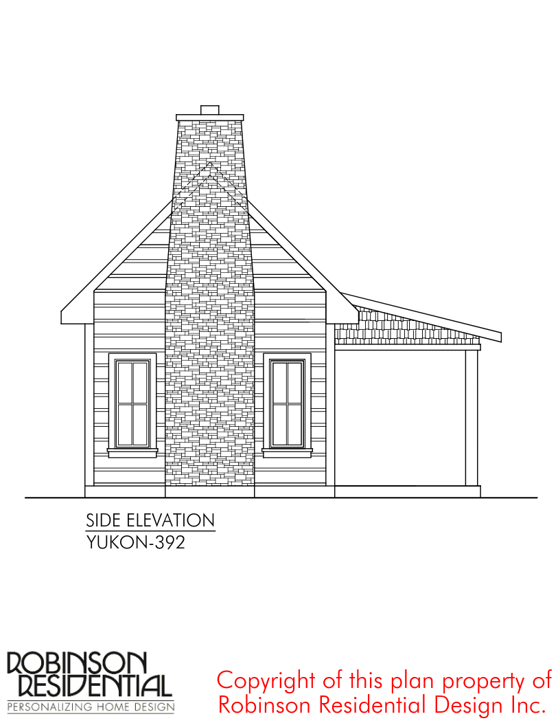 The Yukon Tiny House Plans By Robinson Residential With