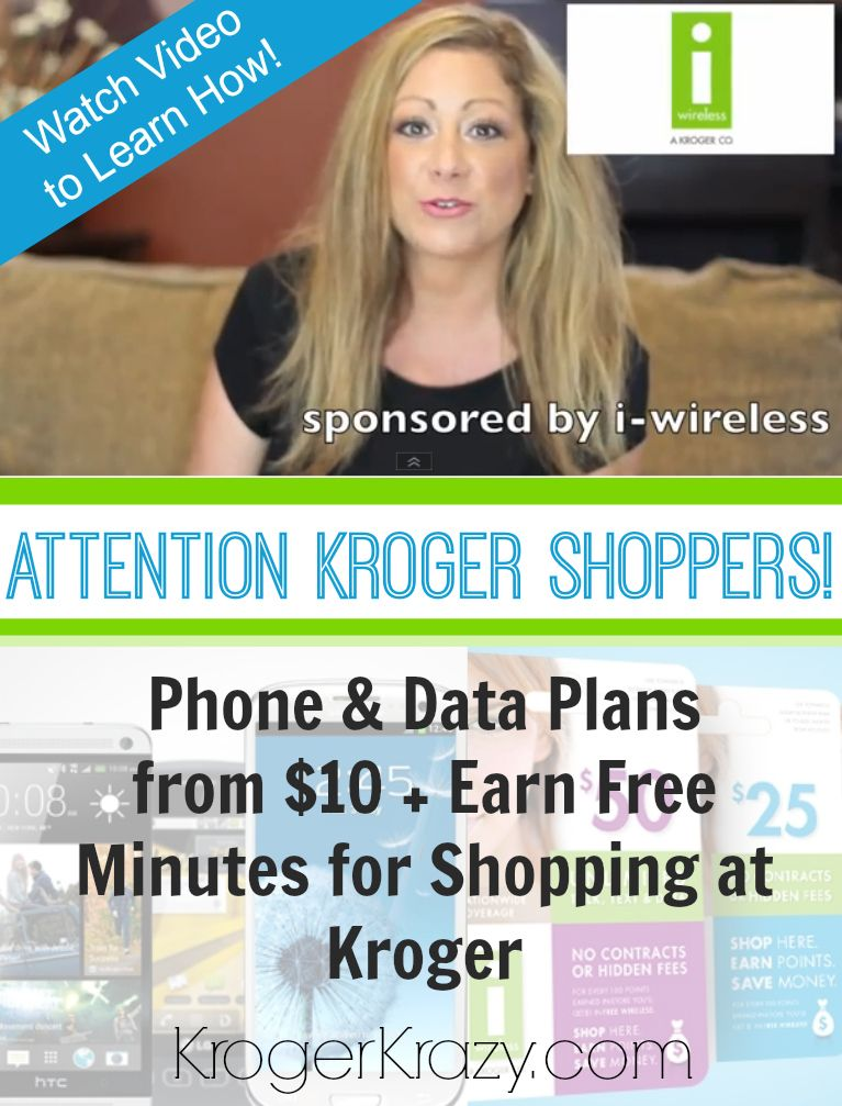 Kroger i-wireless Plans offer Something For Everyone! Data Plans for