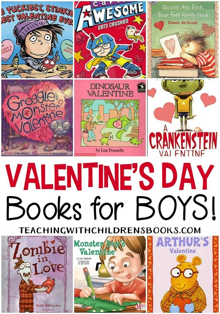 There are no mushy-gushy books on this list. Your guys will love ...
