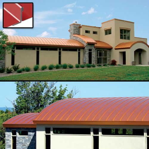 Atas Field Lok Panels Are Mechanically Seamed In The Field And Provide The Traditional Appearance Of A Standing Seam Metal Roof Panels Roof Panels Metal Roof