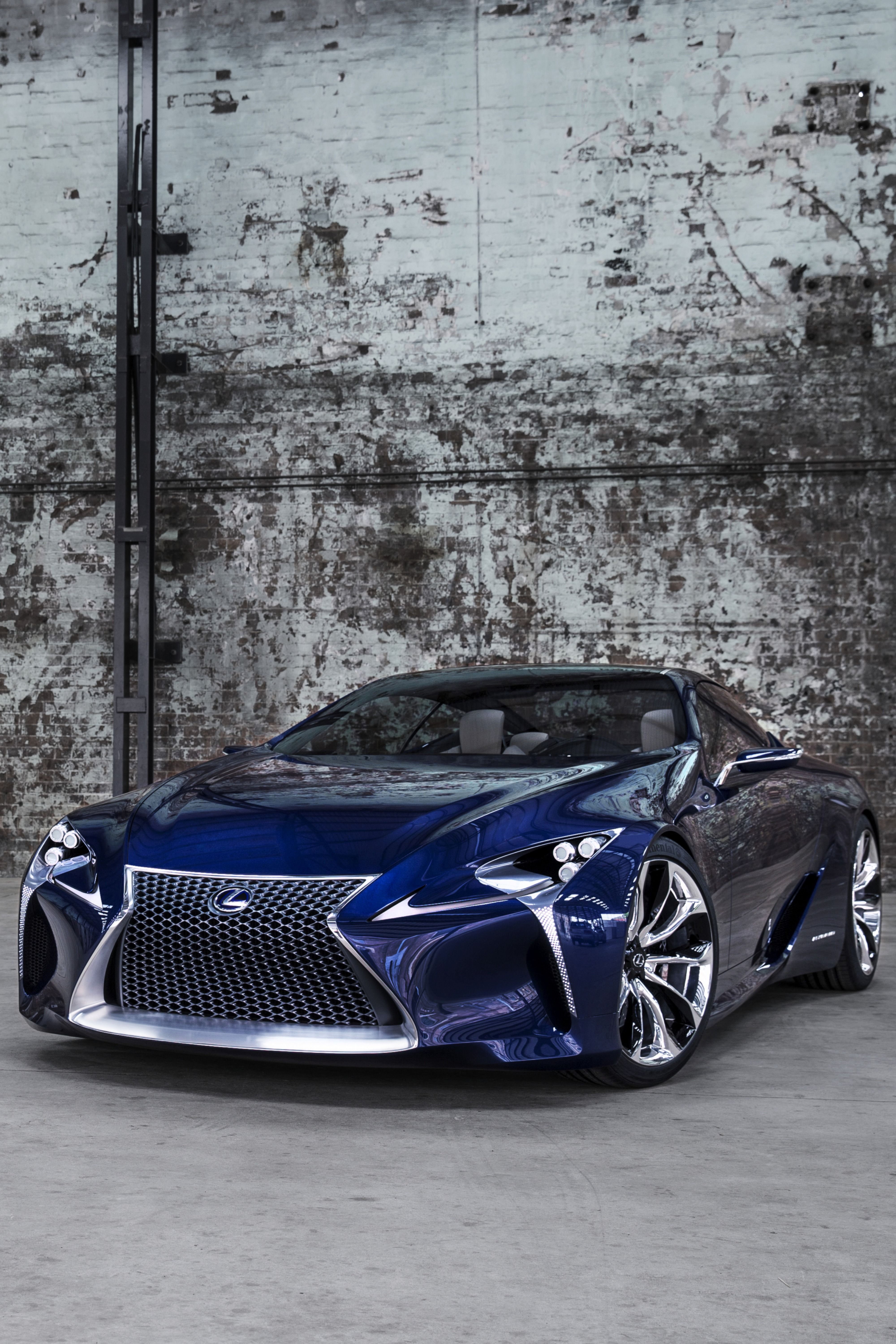 The Lexus LFLC concept car, a development of the award