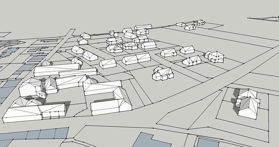 Réalisation d\u0027une vue 3D d\u0027une commune d\u0027Ille et Vilaine avec - logiciel de plan maison