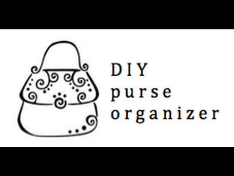 Can't find anything in your purse? Here's an easy sewing