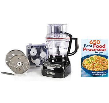 Kitchenaid 13 cup ultra wide mouth food processor with exactslice kitchenaid 13 cup ultra wide mouth food processor with exactslice system bonus recipe book forumfinder Images