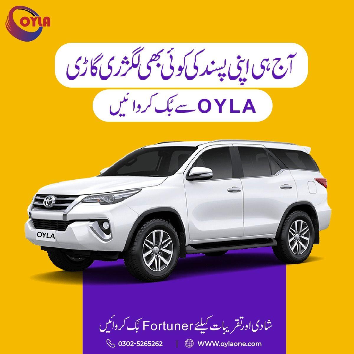 Luxury Cars Like Land Cruiser V8, Prado, Toyota Fortuner
