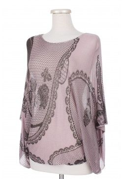 Type 2 Cathedral Shawl in Mauve