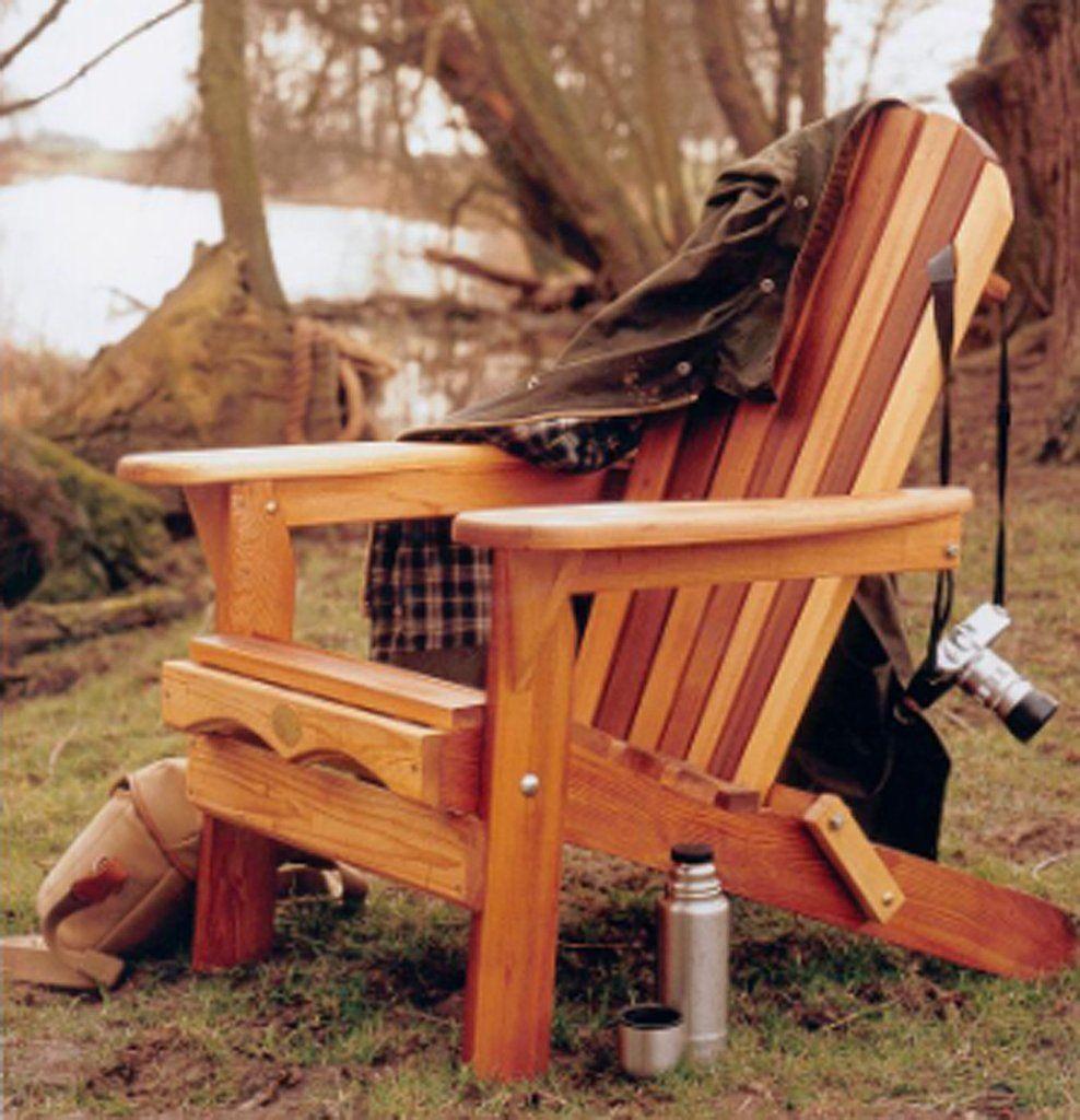 Bear Chair Folding Cedar Chair Kit
