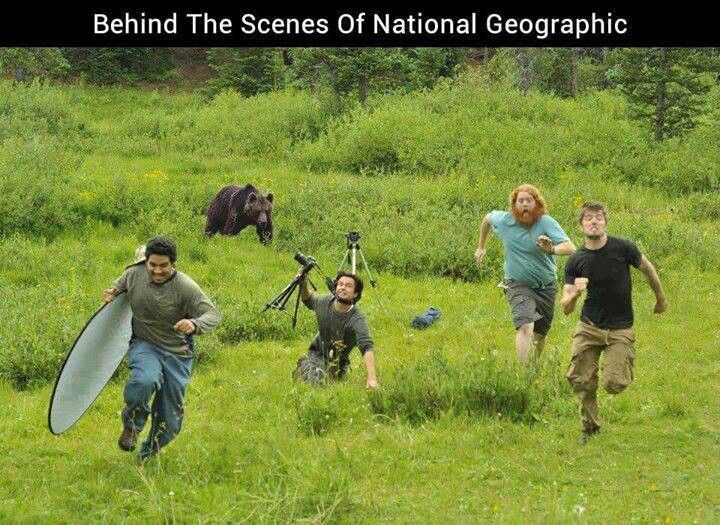 Behind the scenes funny stuff national geo