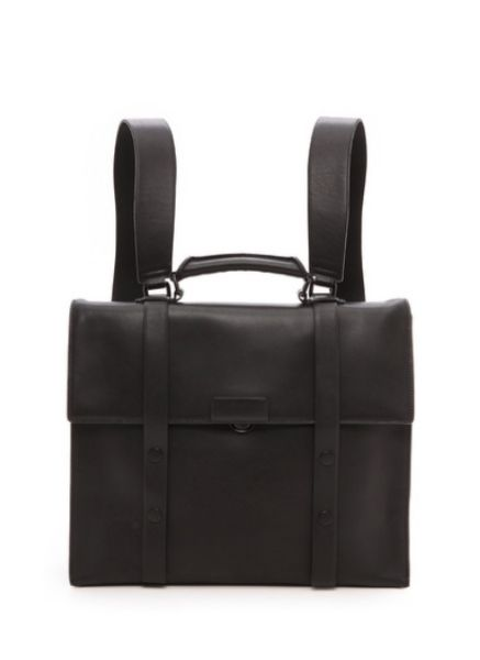 A 3.1 Phillip Lim satchel-like design  Read more on backpacks:  http://attireclub.org/2014/10/18/5-things-look-buying-everyday-backpack/  #backpack #fashion #menswear