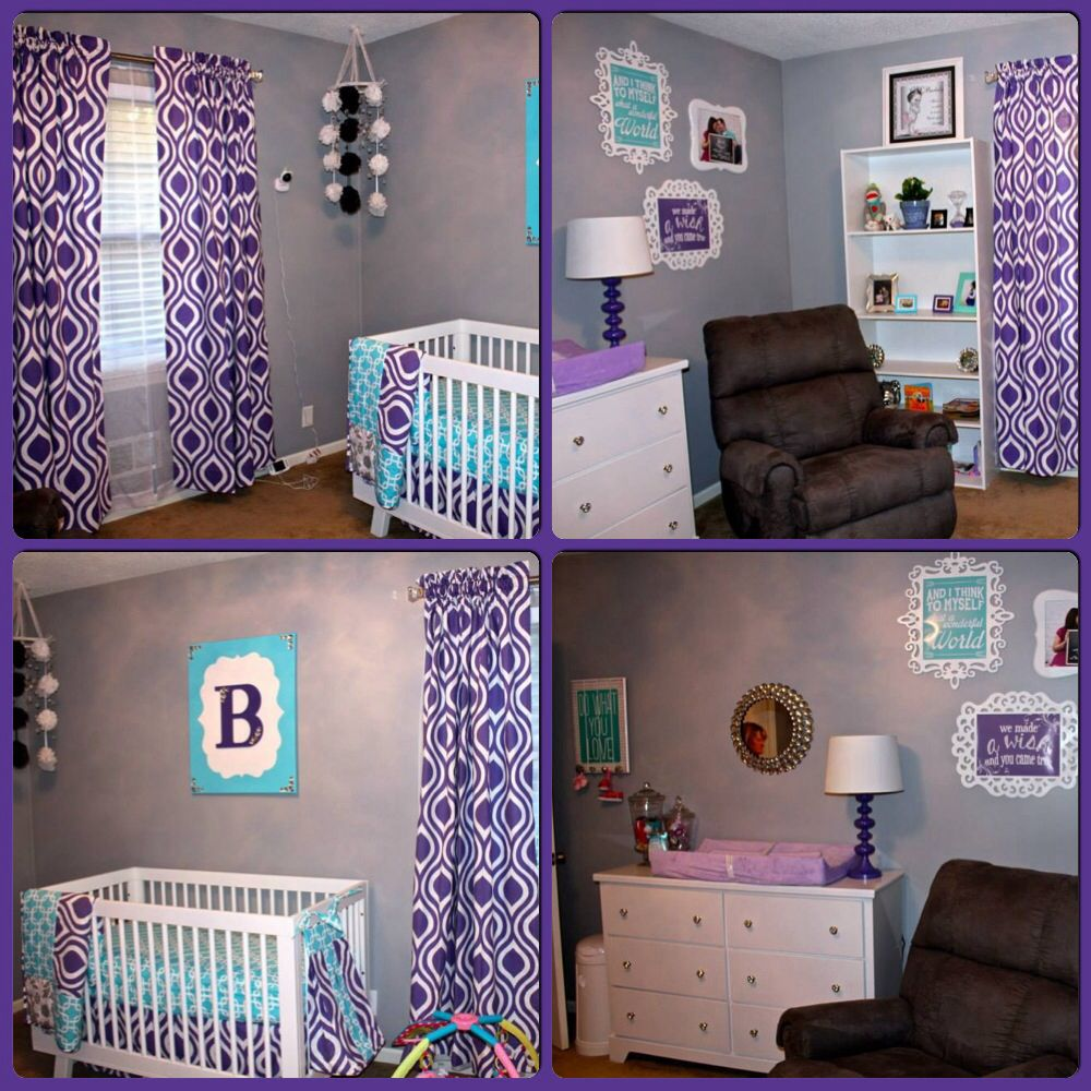Your Little One Will Love These 8 Gender Neutral Nurseries: Teal Nursery, Girl Room