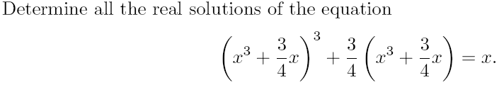 This is a problem from the 2012 Intermountain Mathematics Competition. Found it amusing