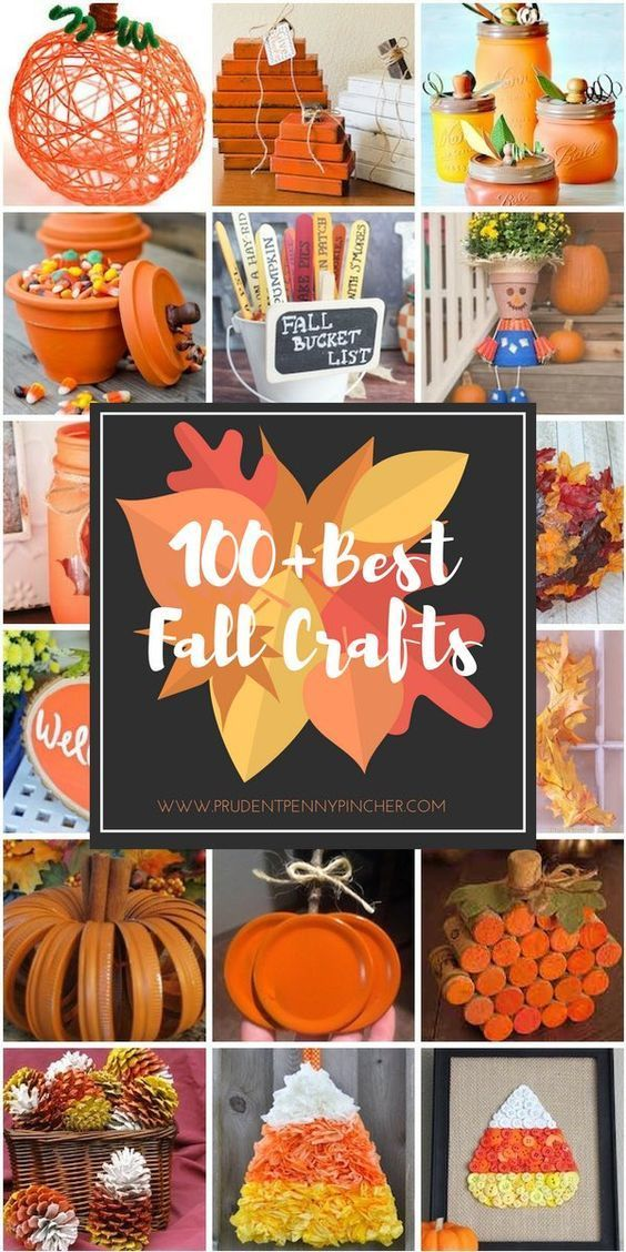 100 Best Fall Crafts for Adults Holiday Crafts