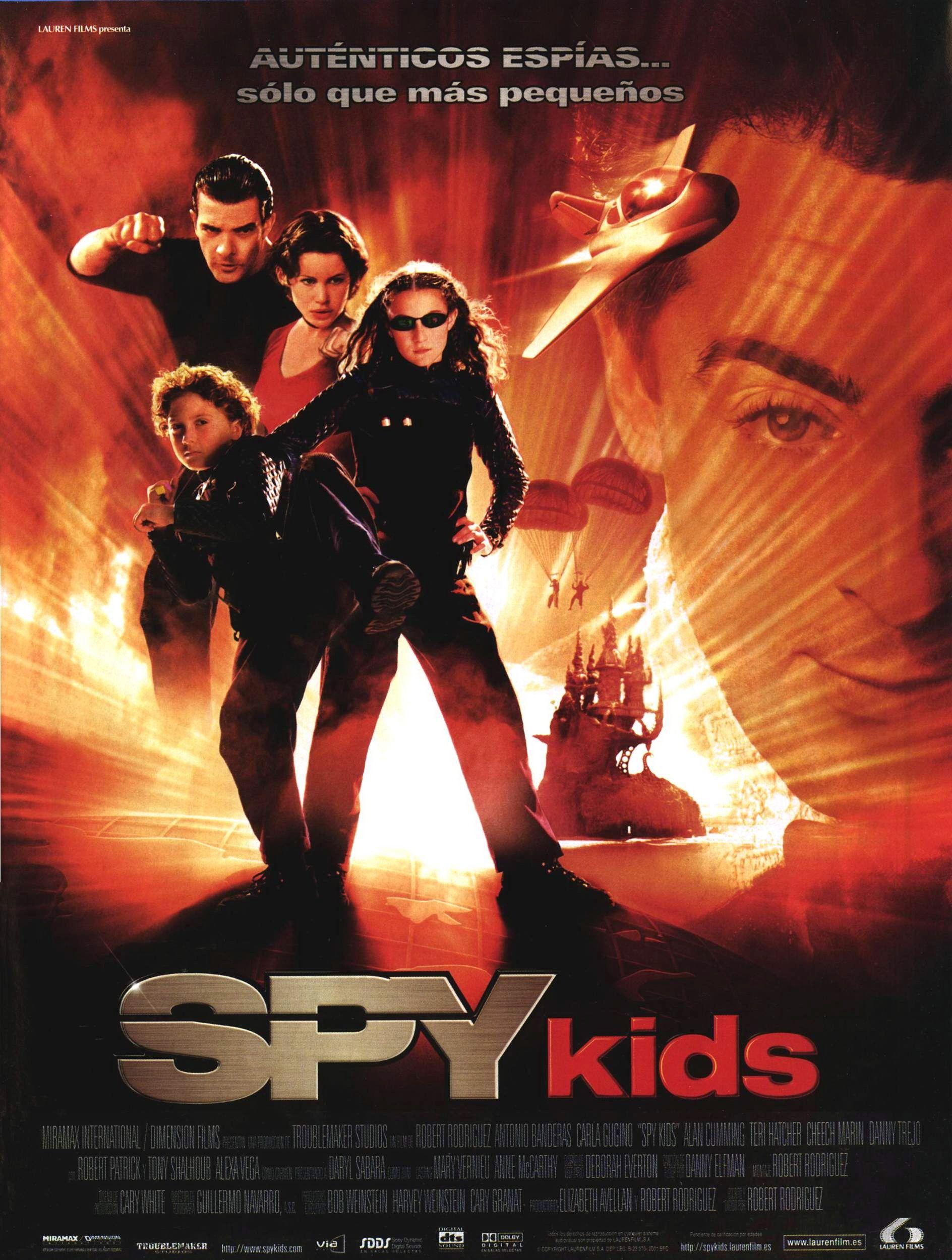 Spy Kids Spy Kids Peliculas De Pixar Peliculas Familiares