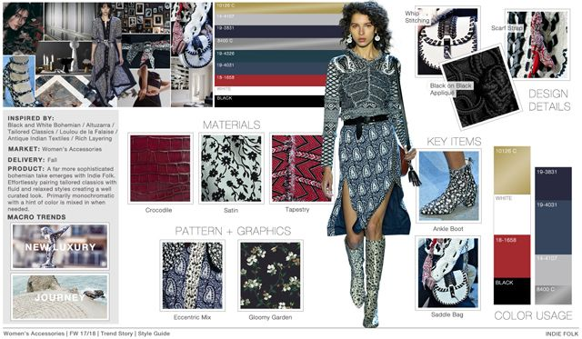 Fashion Snoops is an online forecasting trend service that ...