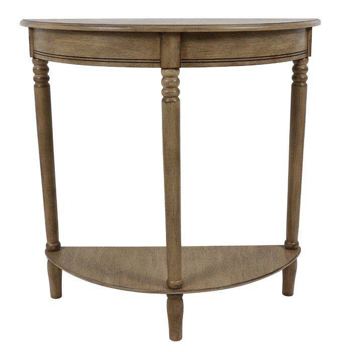 Best Hadenson 28 Solid Wood Console Table Wood Console Wood 400 x 300