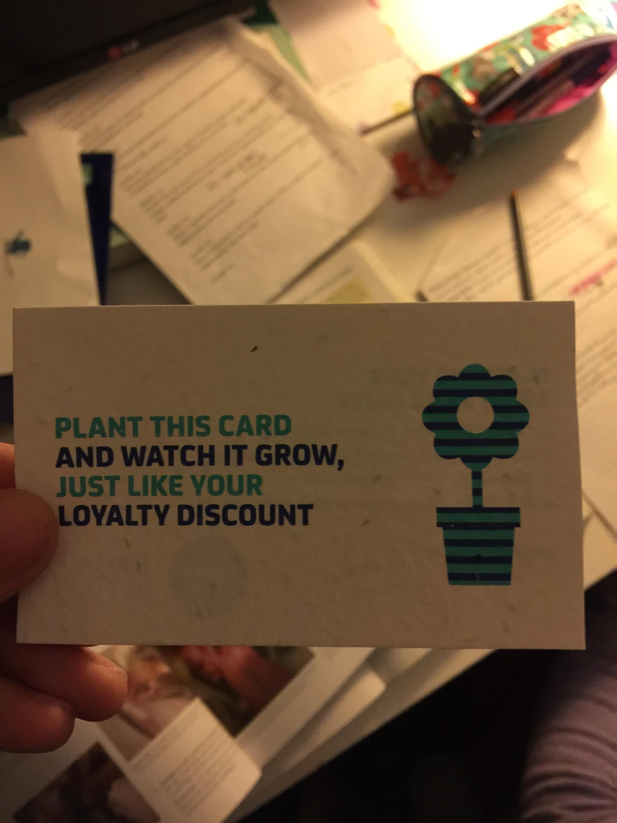 A plant was delivered in an envelope today - Imgur