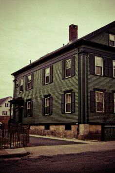 Lizzie Borden Bed And Breakfast Museum In Fall River Machusetts Site Of One