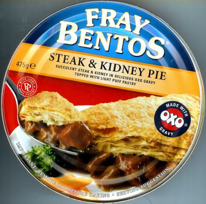 Fray Bentos Large Steak & Kidney Pie 475g ...