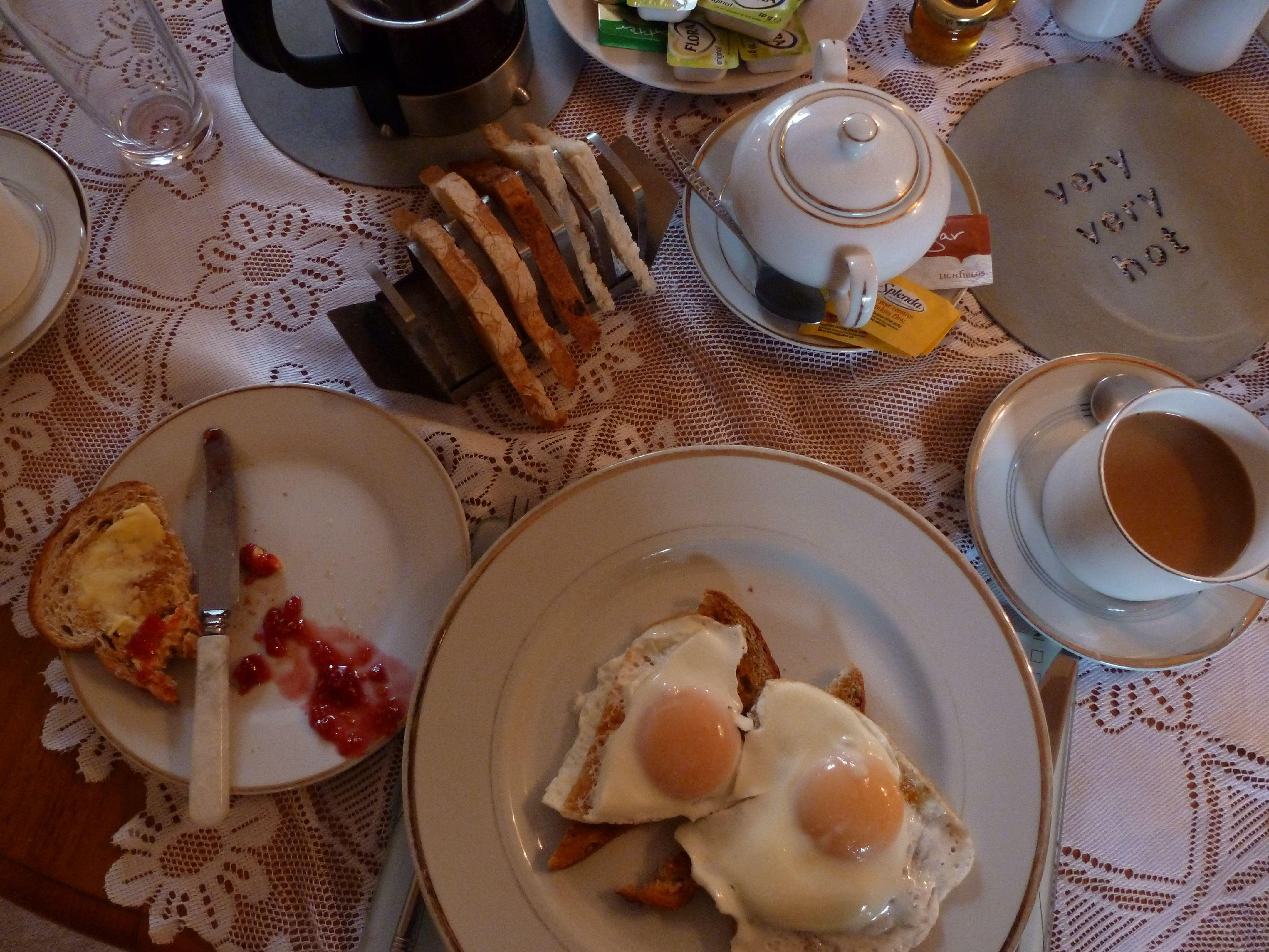 B & B breakfast Scotland