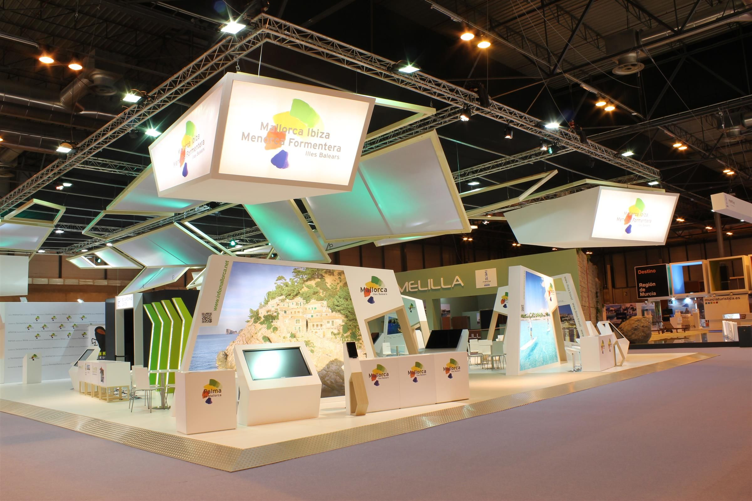 Exhibition Stand Builders Es : Stand for atb illesbalears at last fitur edition