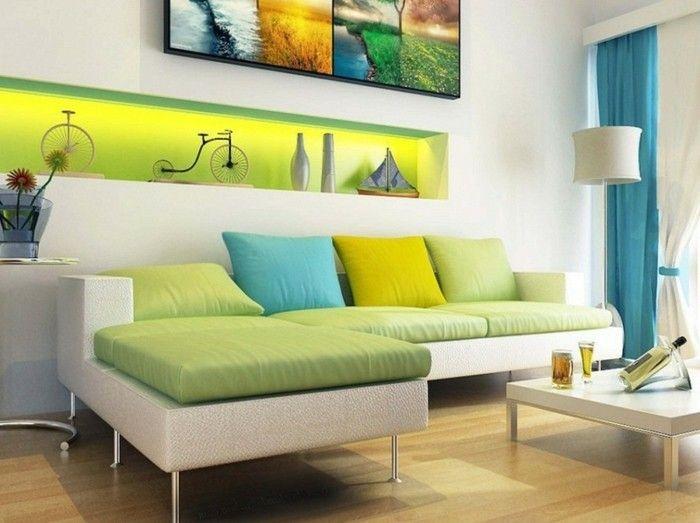 Dekorative Bilder Wohnzimmer ~ Wanddeko wohnzimmer dekorative wandnischen archzine
