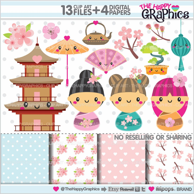 kokeshi dolls clipart 80 off japanese clipart commercial use kokeshi graphics momiji clipart planner accessories kimono [ 1186 x 1186 Pixel ]
