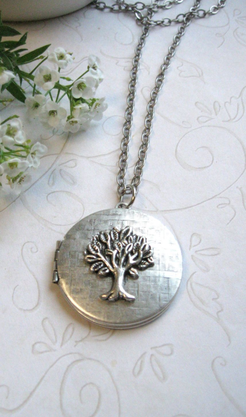 lockets birthstone locket tree custom family