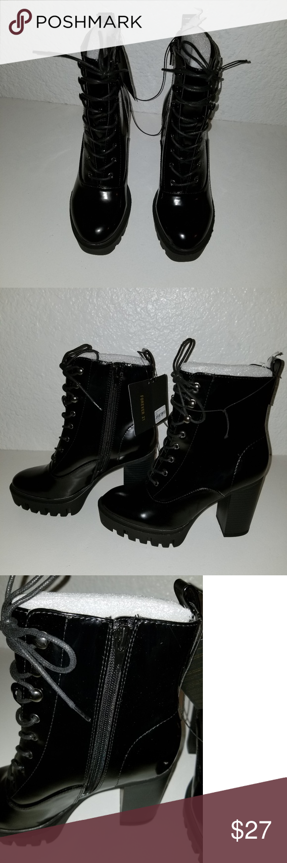 Forever 21black booties Brand new 04725f4a49