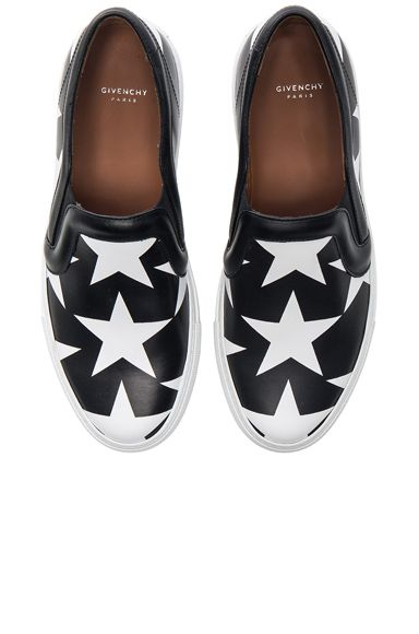 Star Print Skate Sneakers