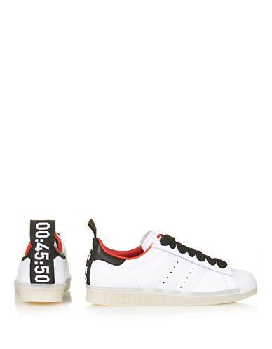 scarpe scarpe superstar degli anni '80 i formatori per topshop x adidas