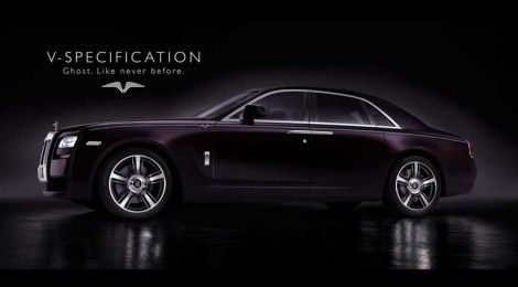Rolls-Royce unveiles Limited Edition Ghost V Specification | Rush Lane