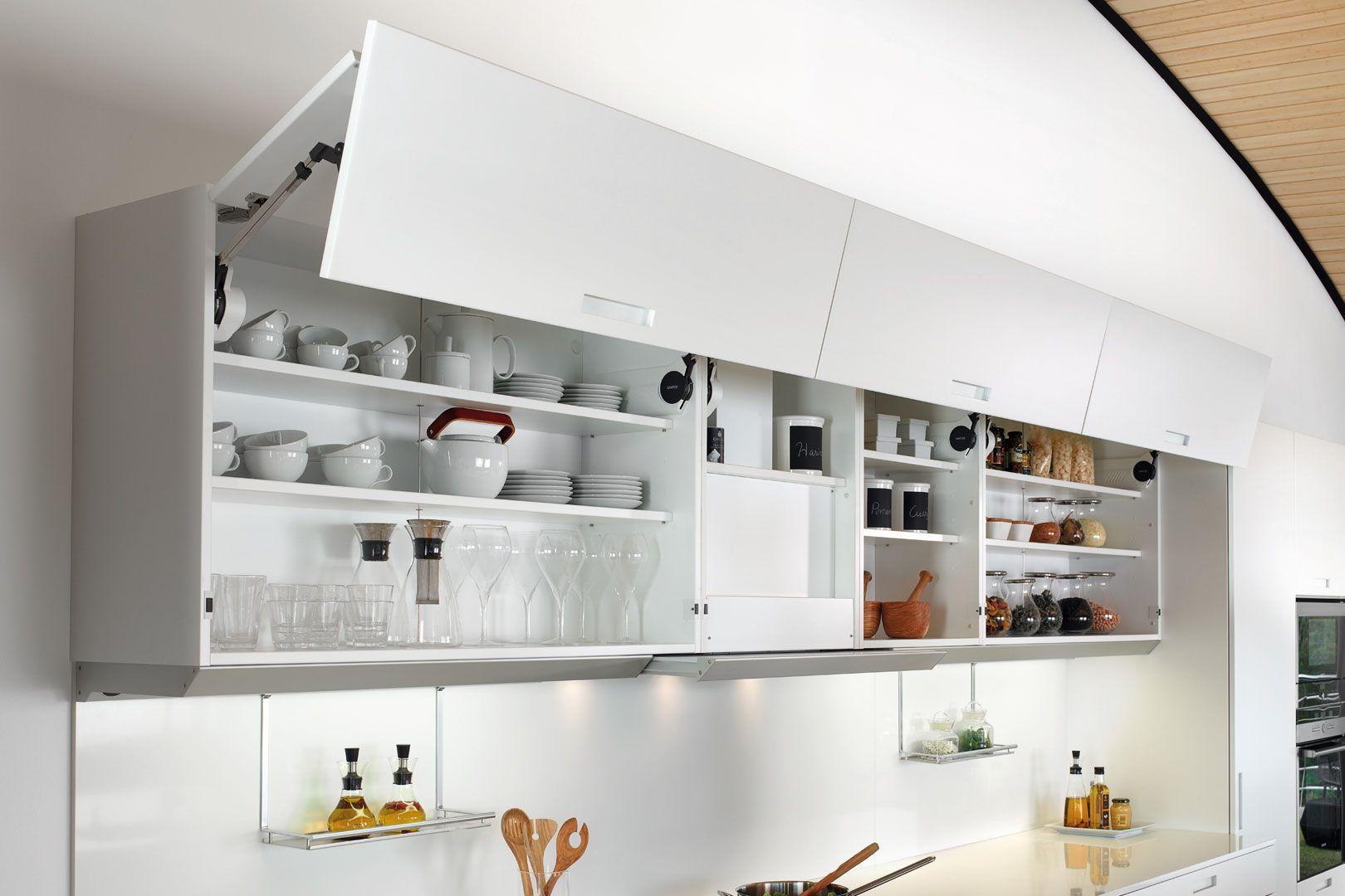 Muebles de cocina altos con apertura superior en 2019 ...