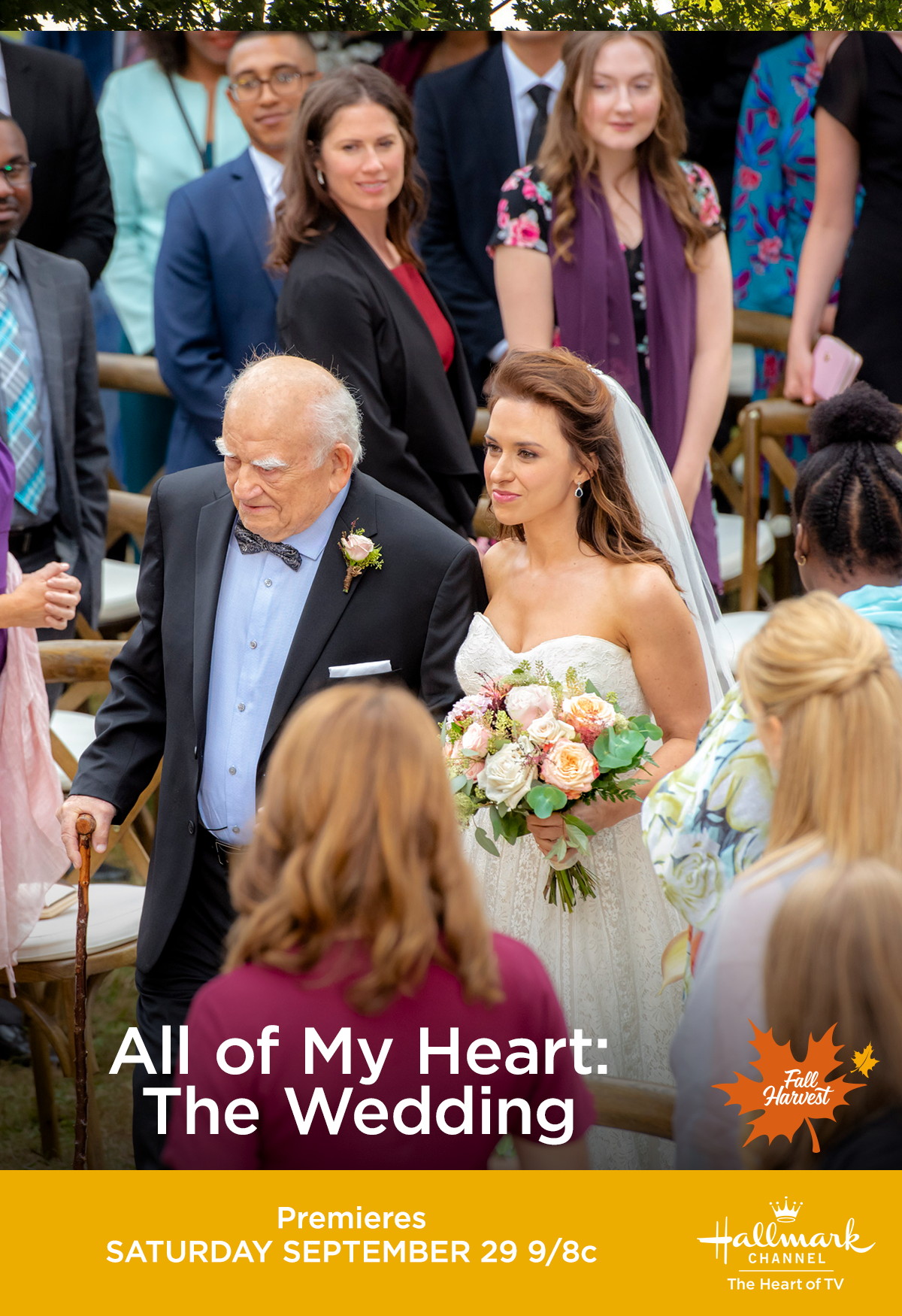 Lacey Chabert Wedding.Vern Ed Asner And Jenny Lacey Chabert Walk Down The Aisle In