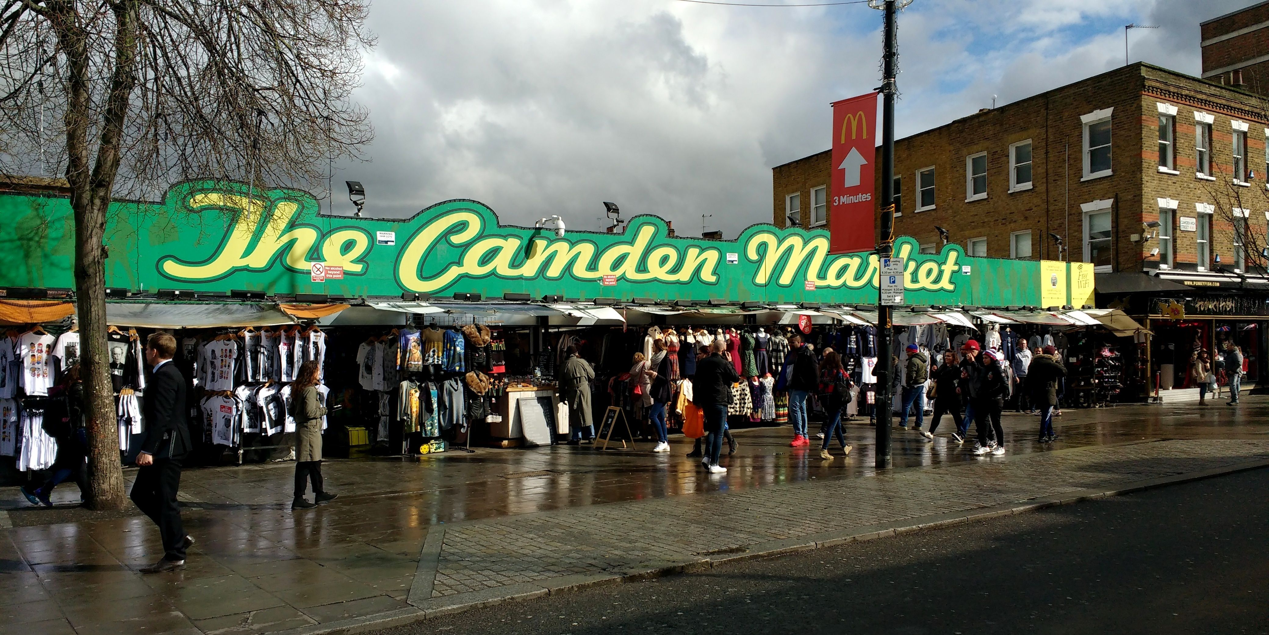 London's most popular openair market. (With images