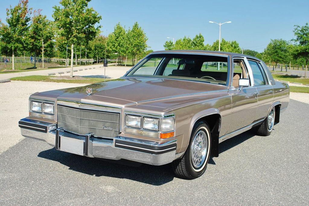 1985 Cadillac Fleetwood Brougham Delegance  Cadillacs for sale