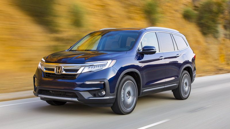 2019 Honda Pilot Crossover Suv Road Test Review And Impressions Honda Pilot Honda Crossover Suv