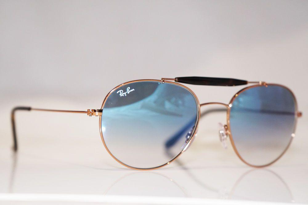 f6f531e3d7 RAY-BAN Mens Designer Sunglasses Gold Round RB 3540 9035 3F 16832 (eBay  Link)