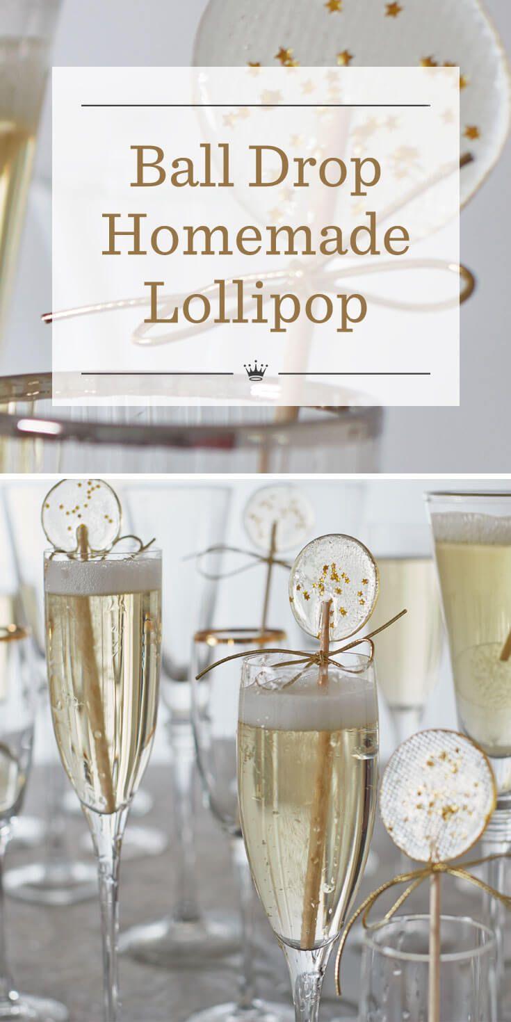 Ball drop homemade lollipops | Recipe | Pinterest | Dessert table ...