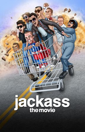 Jackass Poster Drawing Comedy Comedy Movies