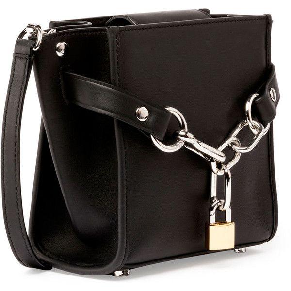 c5384bab4a1e Alexander Wang Attica Mini Chain Satchel Bag, Black (119.285 RUB) ❤ liked  on Polyvore featuring bags, handbags, alexander wang, satchel purses, ...