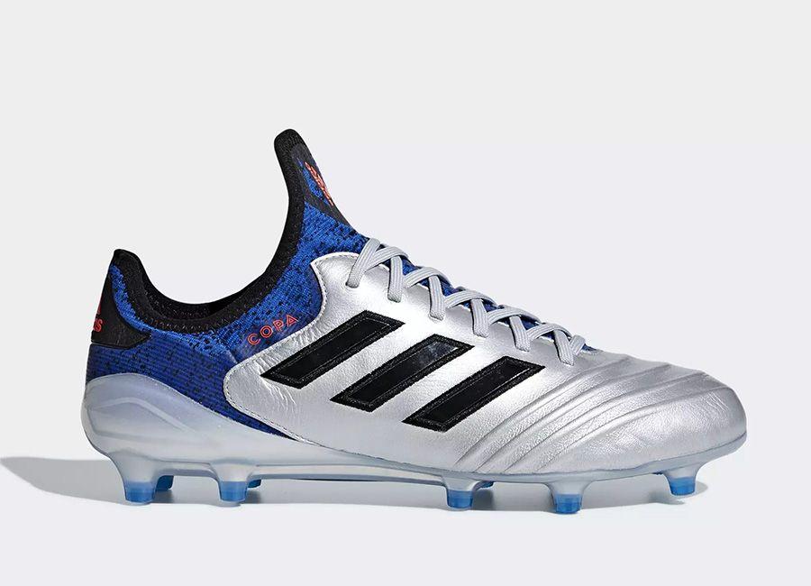 best service e50ce ecfa3  football  soccer  futbol  adidasfootball Adidas Copa 18.1 FG Team Mode -  Silver Met   Core Black   Football Blue