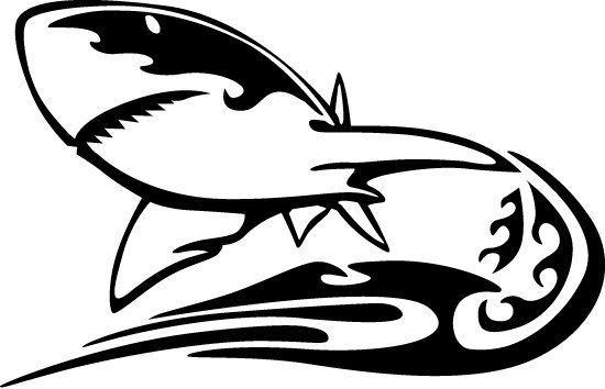 Check out this item in my Etsy shop https://www.etsy.com/listing/198777242/shark-vinyl-decal