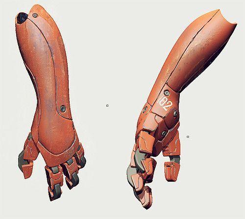 Risultati immagini per mecha hands