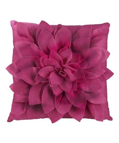 Rose Petals Square Throw Pillow