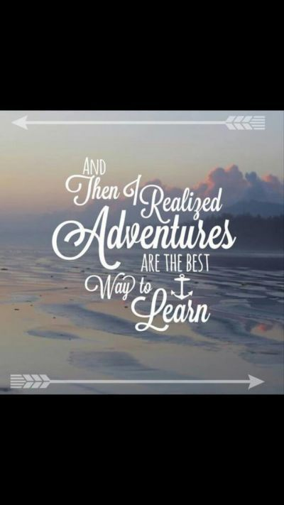 Adventures are the best!