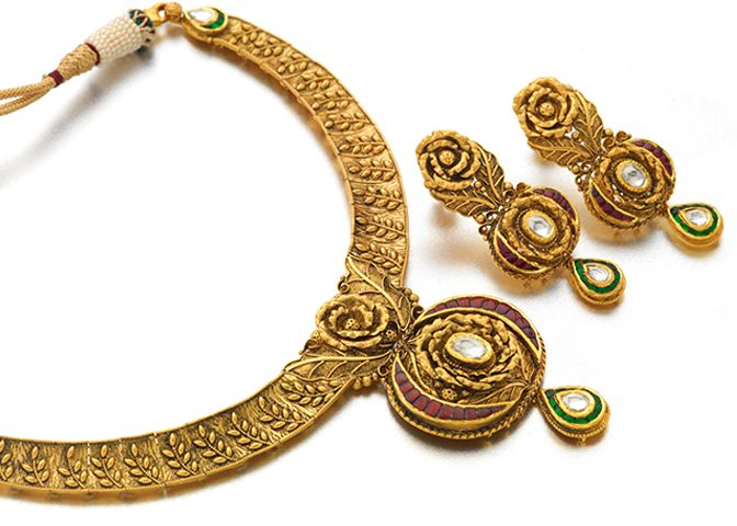 Best Price Jewellery Set Gold Necklace Designs Gold Jewelry