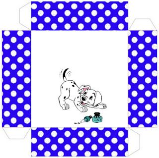 Dalmatians Boys - Full Kit with frames for invitations, labels for goodies, souvenirs and pictures! | Making Our Party