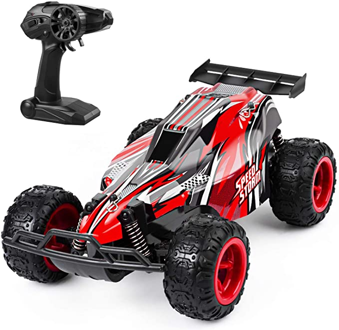 Amazon Com Jeypod Remote Control Car 2 4 Ghz High Speed Racing Rc Car With 4 Batteries Kids Toys Remote Control Cars Remote Control Cars Rc Trucks Rc Cars